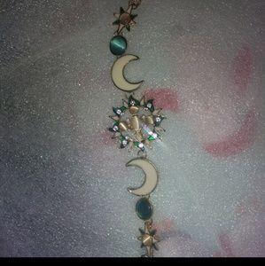 BEAUTIFUL BNWT MOON, sun, stars bracelet